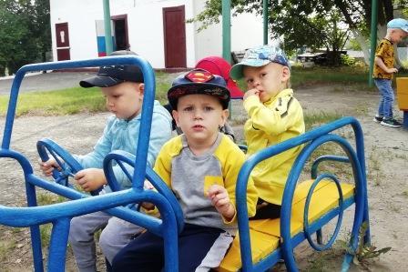 «Первый раз в детский сад!»